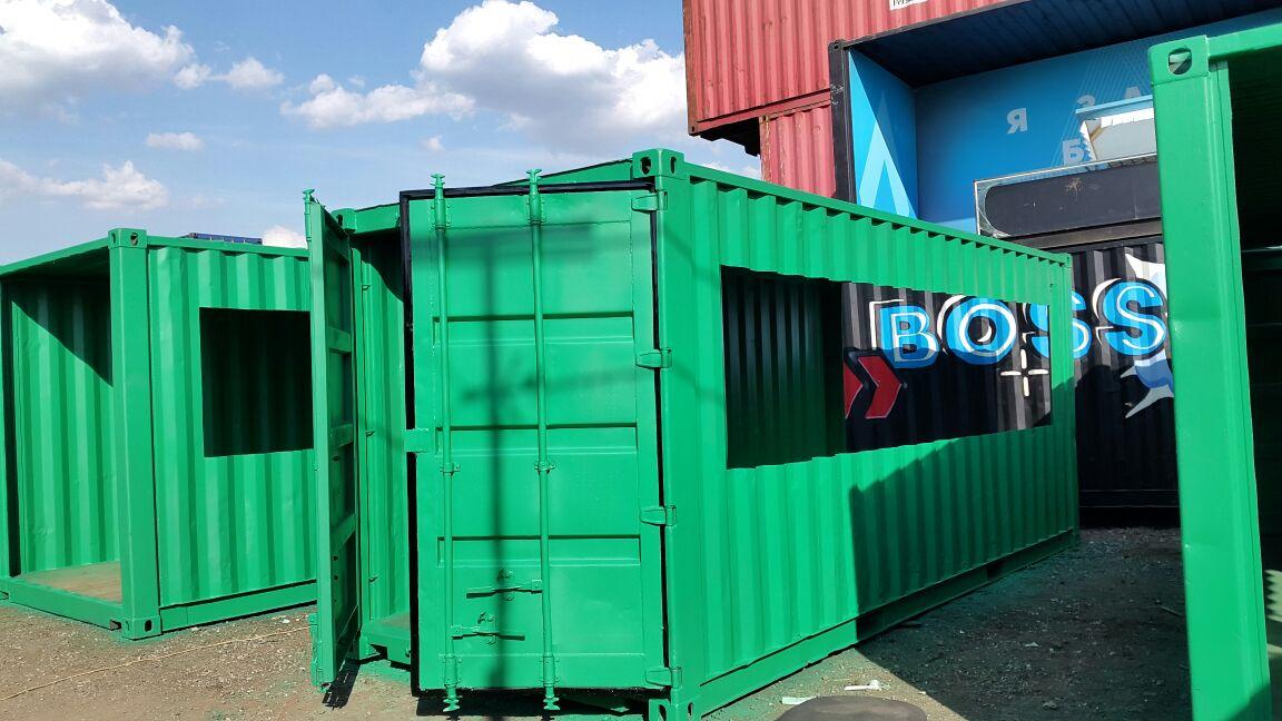 Как покрасить контейнер своими руками 46